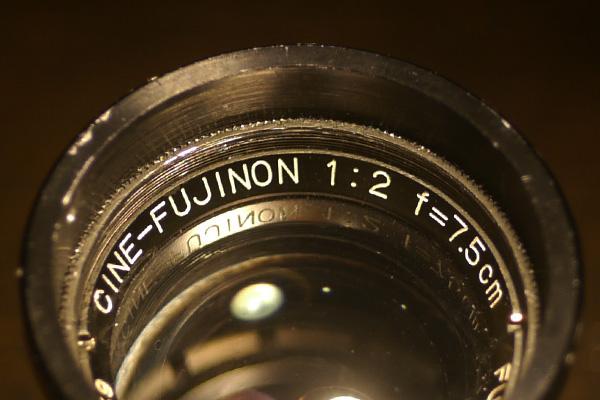 Fuji Cine Fujinon 7.5cm f2