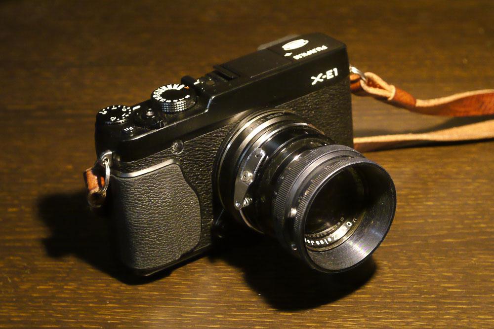 X-E1 + Carl Zeiss Sonnar 5cm f1.5
