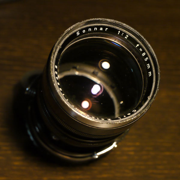 Carl Zeiss Sonnar 85mm f2