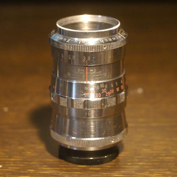 Schneider Tele Xenar 75mm f3.8