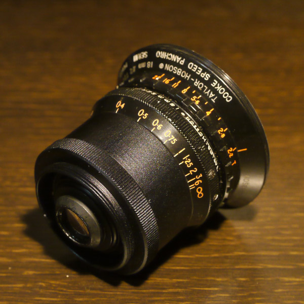 Taylor Hobson Cooke Speed Panchro 18mm f2