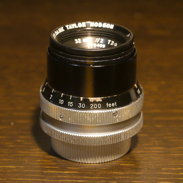 Cooke Speed Panchro 32mm f2 SerII