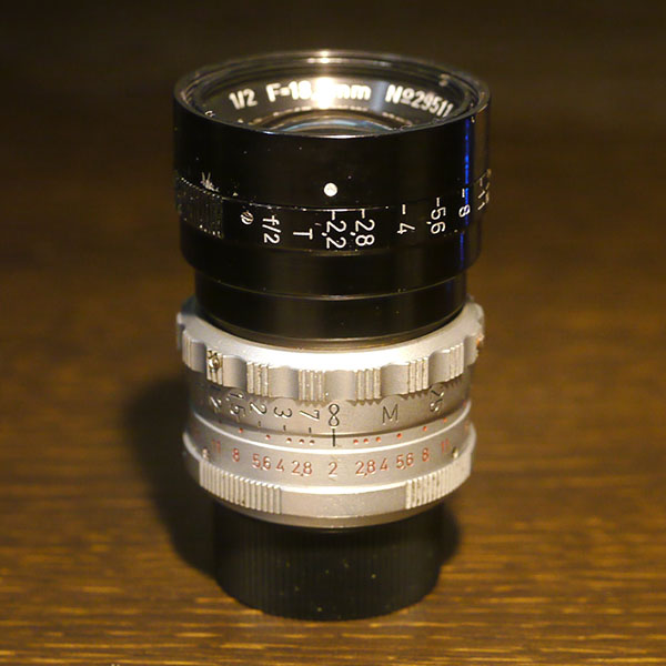 Kinoptik Apochromat-16 18.5mm f2