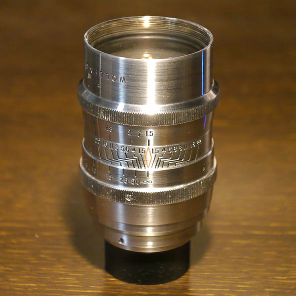 Wollensak Cine Raptar 50mm f1.5