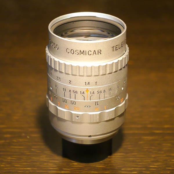 Cosmicar Television Lens 50mm f1.4