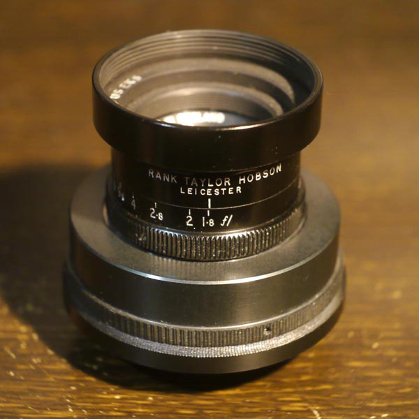 Taylor Hobson Cooke Kinetal 37.5mm f1.8