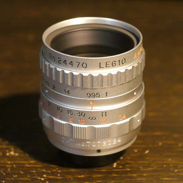 Ampex Television Lens 25mm f0.95