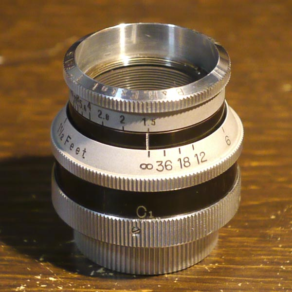 Bell&Howell Extol 1inch f1.5