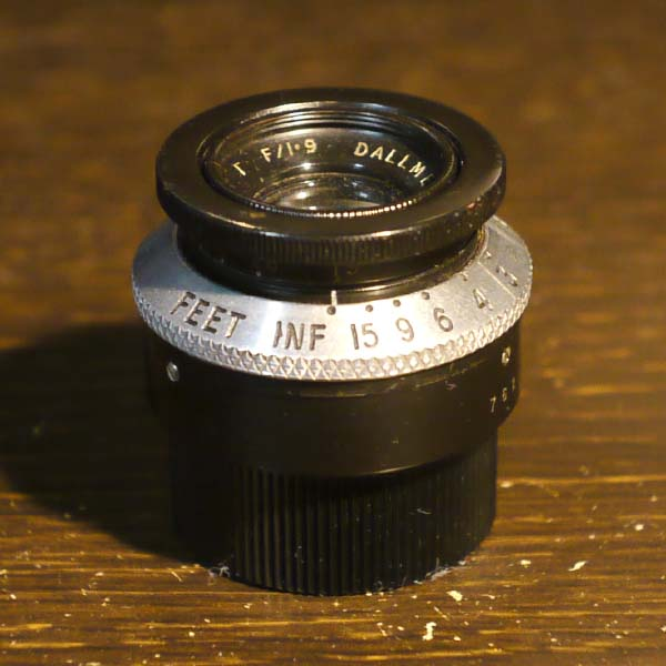Dallmeyer 1inch f1.9