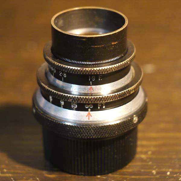 Ross 1inch f1.9 Cine Lens