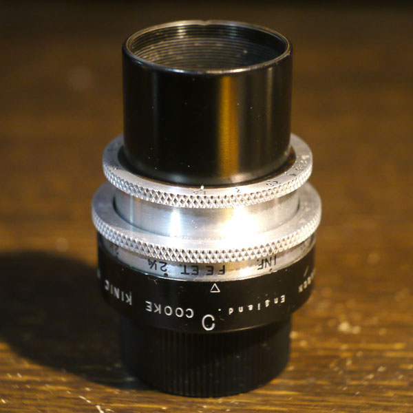 Taylor Hobson Cooke Kinic 1inch f1.5
