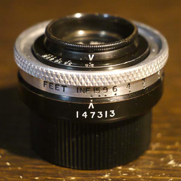 Dallmeyer Anastigmat 20mm f2.5