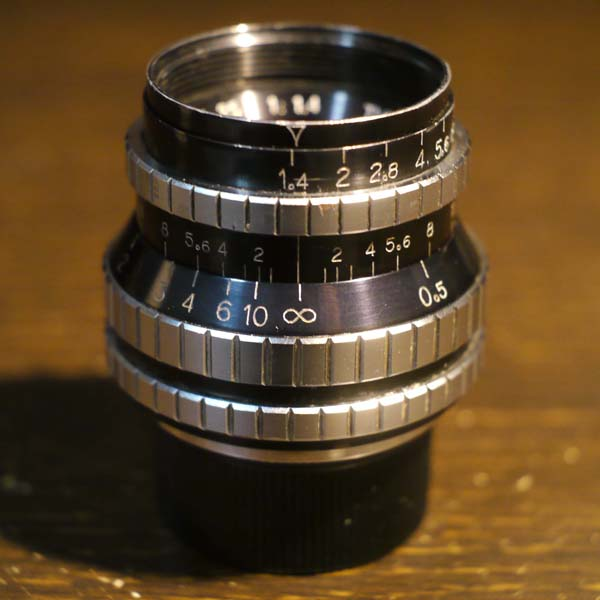 Angenieux 25mm f1.4 TypeS41