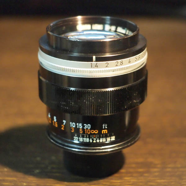 Canon TV-16 50mm f1.4