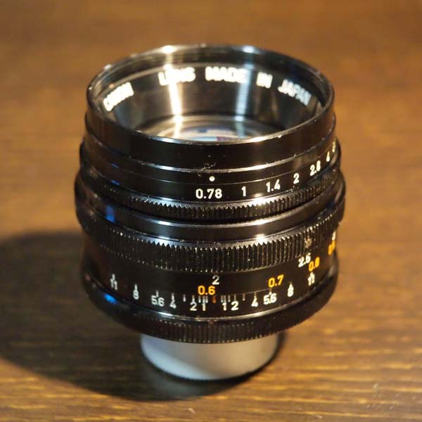 Canon TV-16 25mm f0.78
