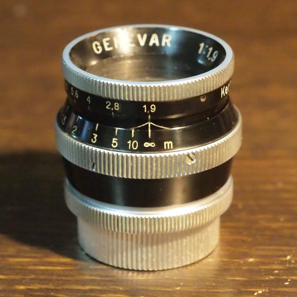 Kern Genevar 25mm f1.9