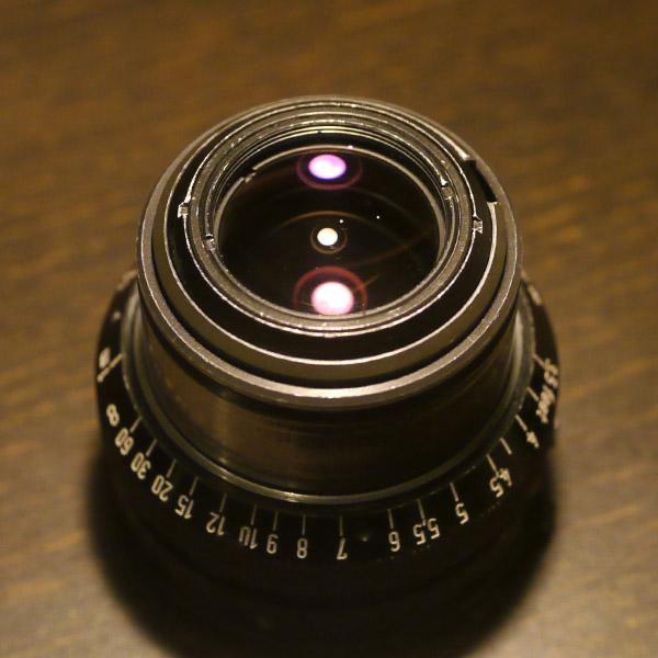 Carl Zeiss Planar 50mm f2