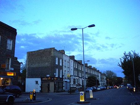ロンドン薄暮