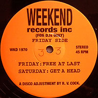 WeekendRecord-FreeAtLast落
