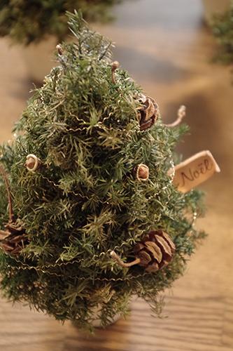 ナチュラルなクリスマスツリー