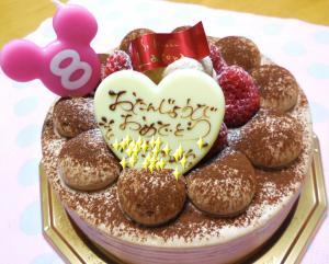 ケーキ8歳