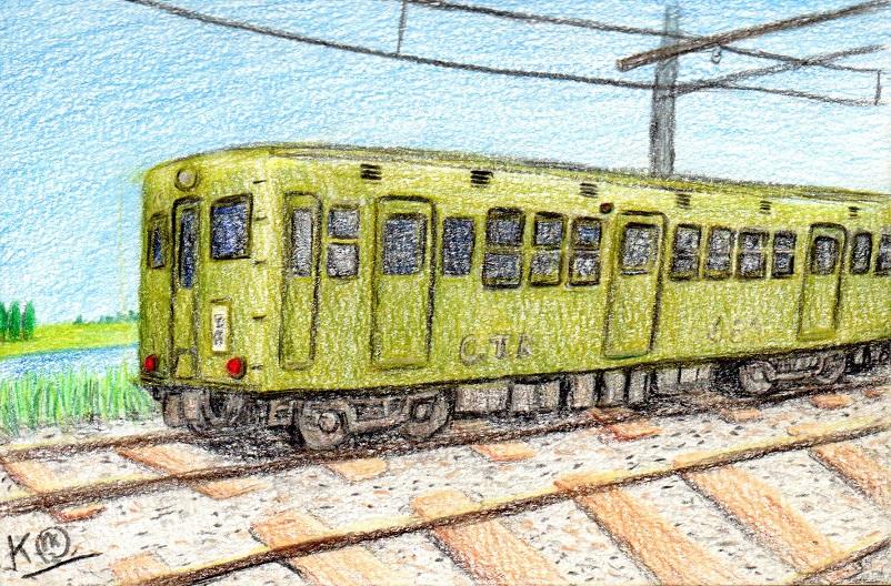 てか、何かしら今まで違う描き方を試してみるのには「路面電車」や「旧型電車」の絵が自分にとってイメージしやすいって話なだけなんだけど。