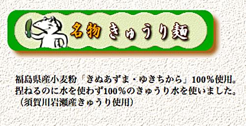 きゅうり麺1