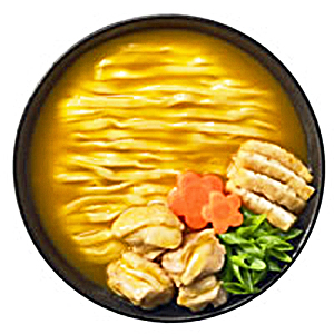 正麺カレーうどんぶり