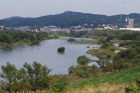 矢作川の風景がきれい