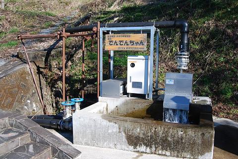 小水力発電機」