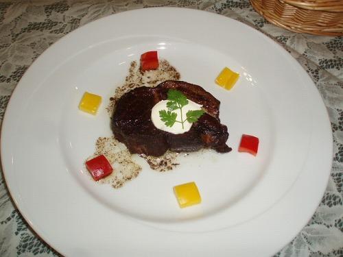 豚肉のバルサミコソース煮