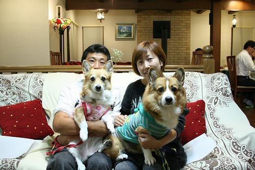 2013秋 森の時計家族写真