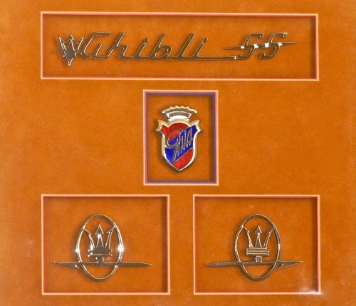 Maserati Ghibli SS ormaments