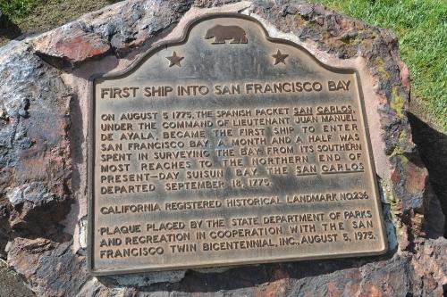 サンフランシスコ石碑