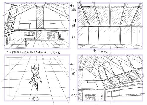 【背景】トレーニングルーム1