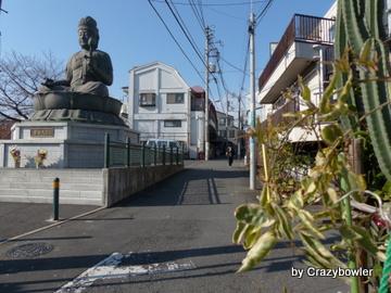 寿徳寺横の古道