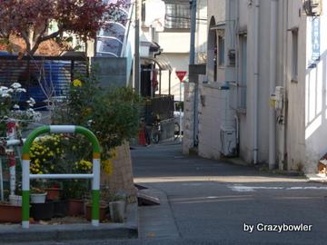 寿徳寺東横の路地(北区)