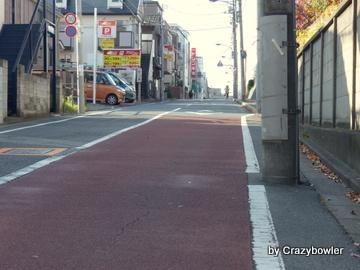 加賀学園通りからの風景(北区)