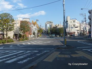 加賀学園通りの風景(北区)