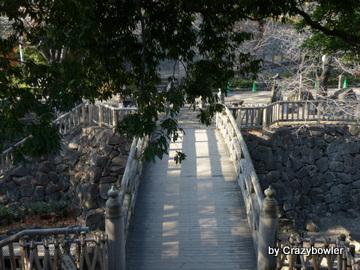 旧音無橋(復元)