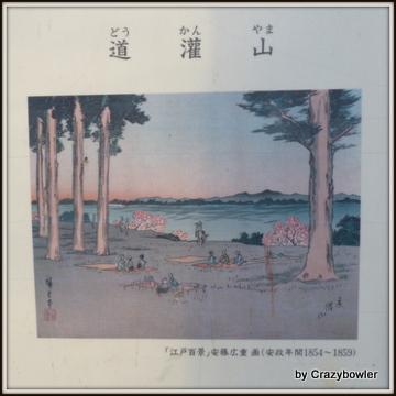 「道灌山」 「江戸百景」より