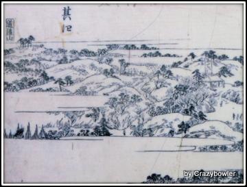 江戸時代の西日暮里あたり