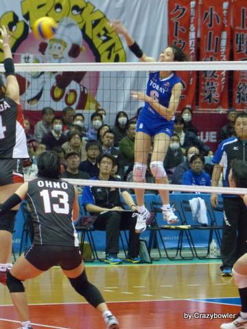 Vプレミアリーグ2014 東レvsNEC 川崎
