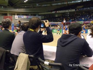 Vプレミアリーグ2014 東レvs日立(東京大会)