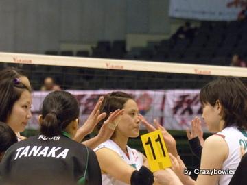 Vプレミアリーグ2014 NECvsJT(東京大会)