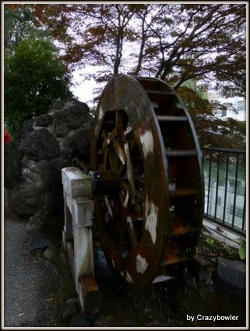 水車 広瀬川(前橋市)
