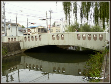 比刀根橋 広瀬川(前橋市)