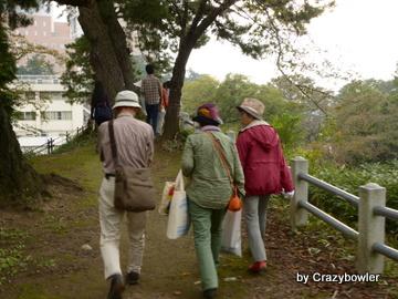 前橋城土塁 前橋公園(前橋市)