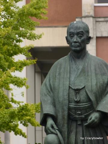 初代前橋市長 下村善太郎翁銅像(前橋市)