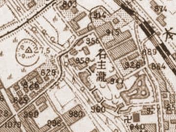 三平坂と謎の山(大正5~10年 北区)